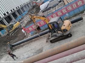 沟机,挖掘机,挠子在工地的用处