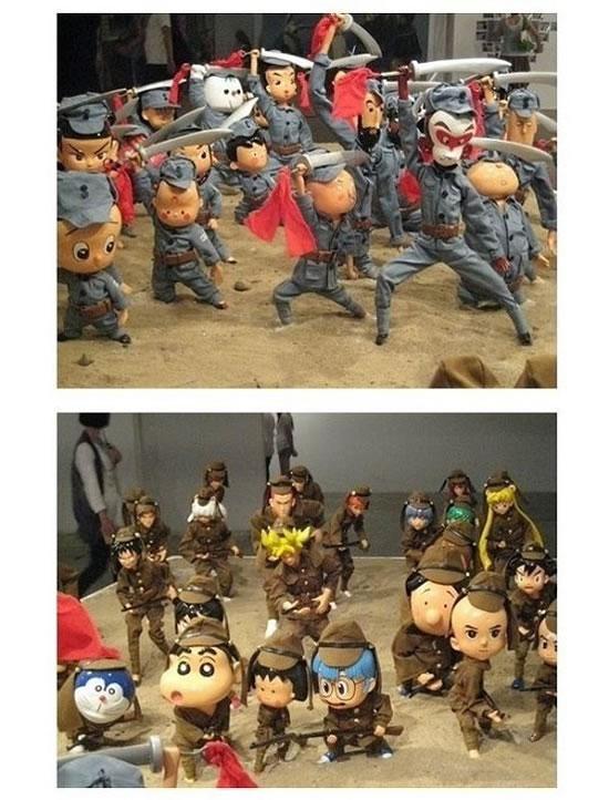 中日动画片大比拼