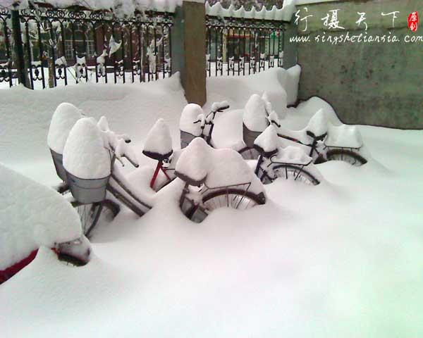 2009年石家庄大雪_你所没见过的大雪_罕见大雪