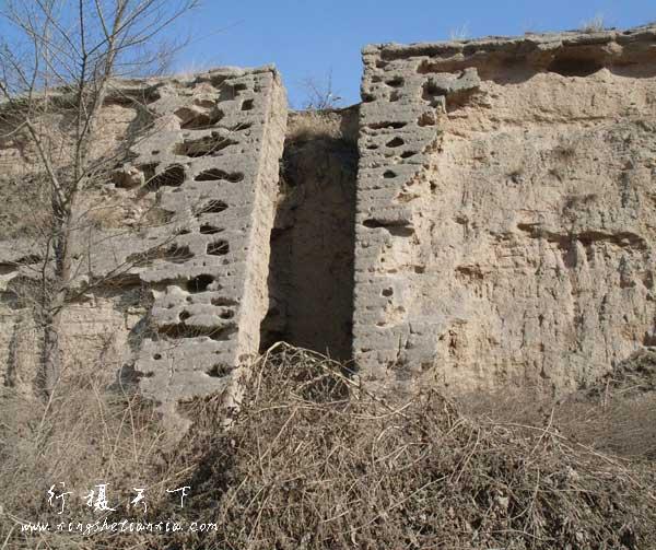 古城墙的城墙梯子,这么多年了还有棱有角