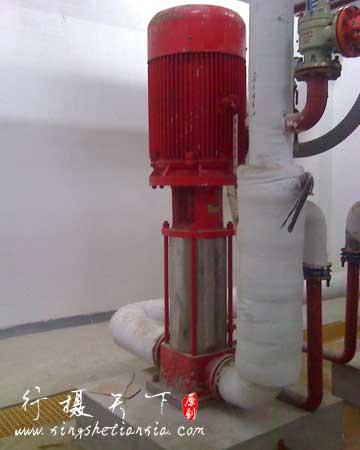 消防水泵现场安装图