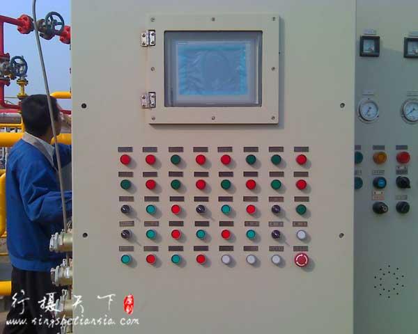 防爆控制柜现场安装图|防爆电机现场安装图