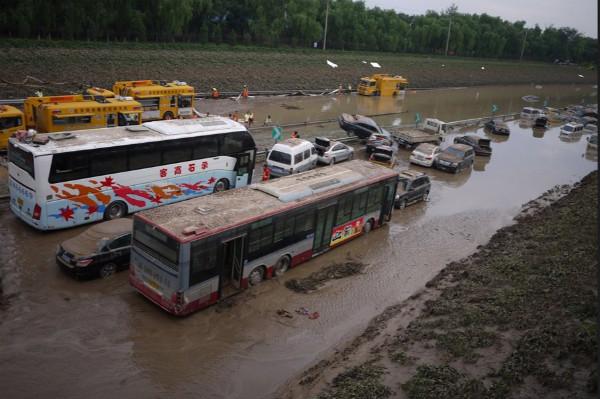 承石高客,北京大雨2012.7.21