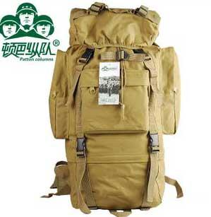 顿巴纵队户外包 登山包双肩包背包65L超大容量旅行包男女旅游背包