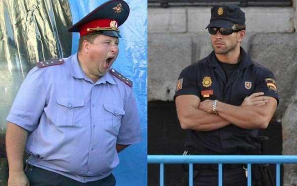 俄罗斯保安和美国保安