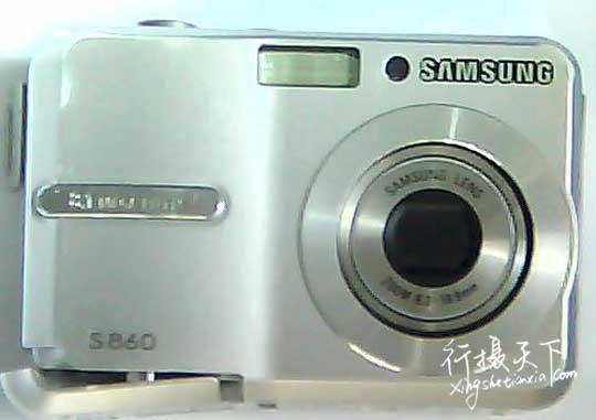 三星S860相机镜头收不回去