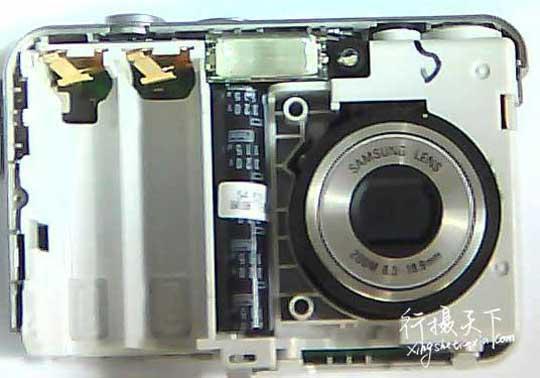 三星相机S860镜头卡住收不回去