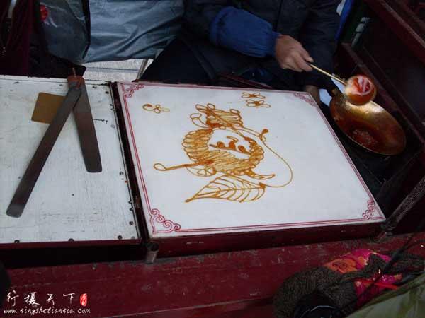 天津文化街-糖人