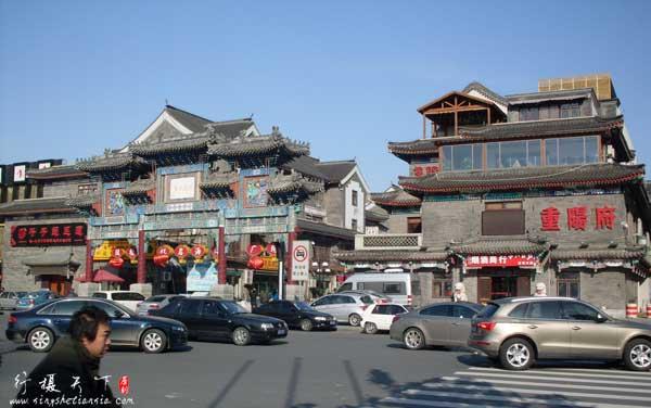 2012年天津鼓楼商业文化街