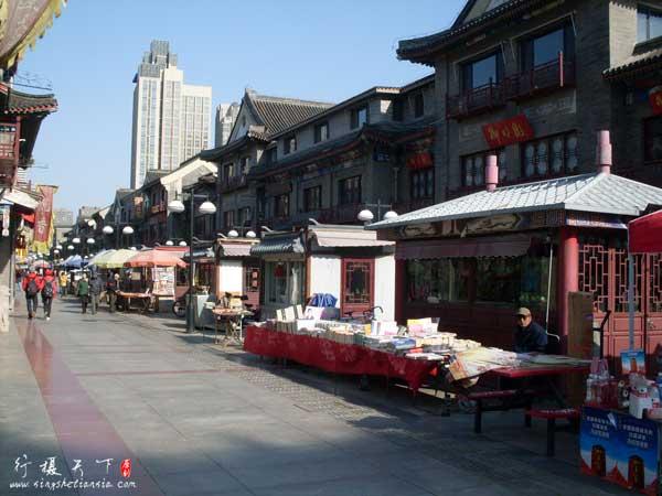 天津鼓楼商业文化街北街