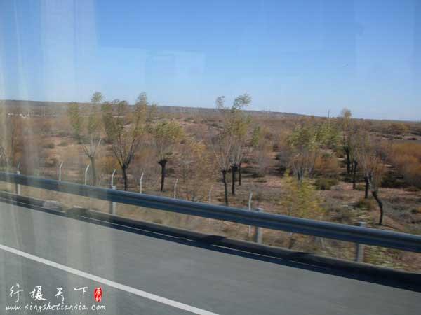 毛乌素沙漠南缘风沙草滩区
