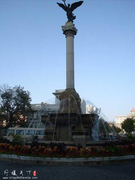 意大利风情区马可波罗广场