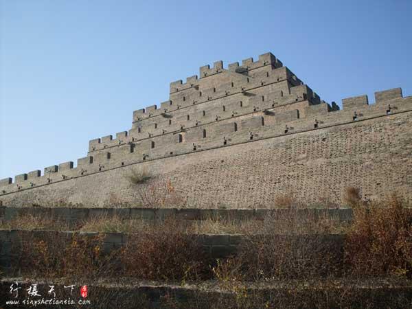 万里长城第一台-镇北台