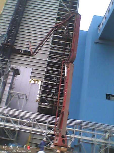 三一46米泵车