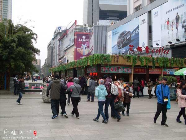 昆明南屏步行街