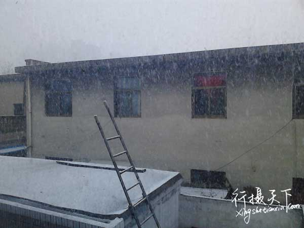 四月鹅毛大雪