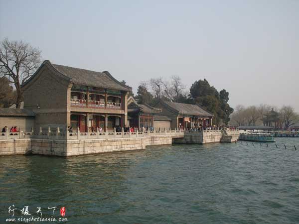 颐和园的昆明湖