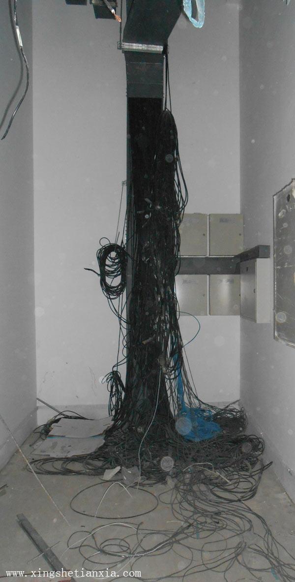 线槽放电缆