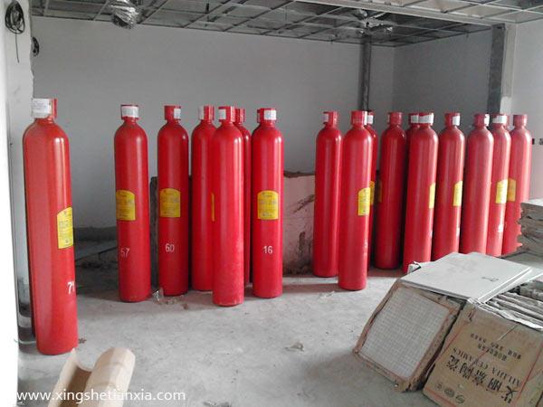 消防气体灭火器-气喷