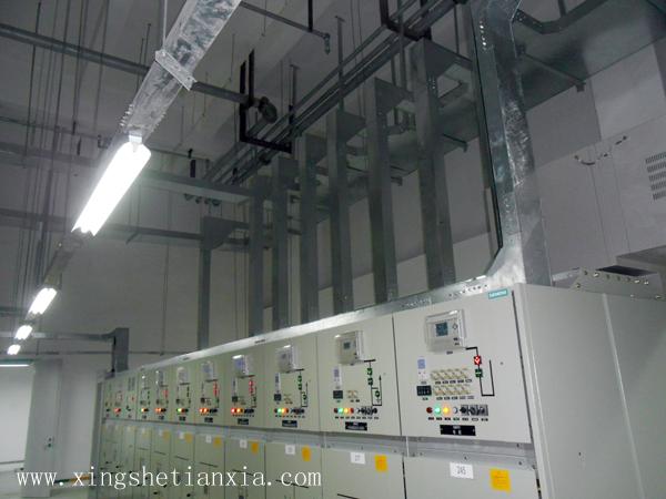2013年安装的配电室
