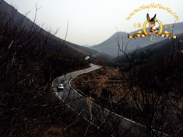妙峰山上山路