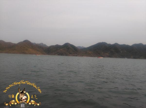 易水湖,山上的栈道