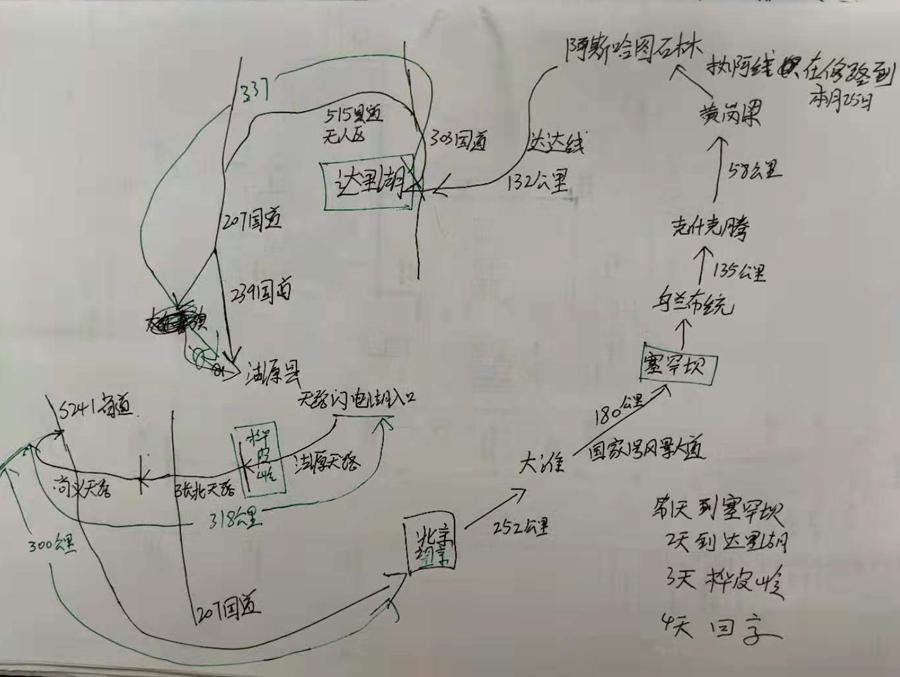 北京至克什克腾旗最美草原公路达达线旅游攻略